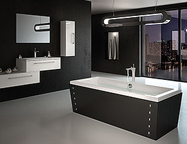 tablier de baignoire montage rapide novalu. Black Bedroom Furniture Sets. Home Design Ideas