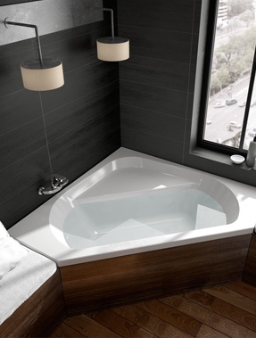 Baignoire design et contemporain aquarine for Dimension grande baignoire