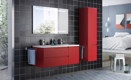 Meuble salle de bain moderne, mobilier, armoires etc   Aquarine