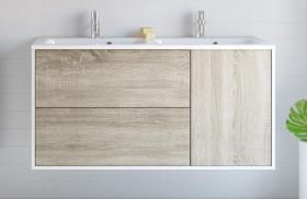 Meuble salle de bain moderne mobilier armoires etc - Petit meuble d angle salle de bain ...