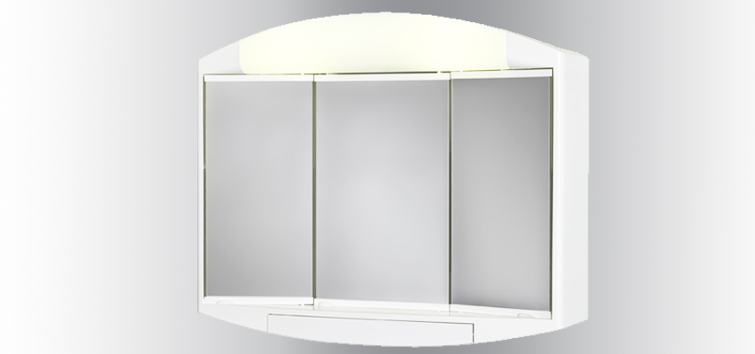 Armoire de toilette kaly aquarine for Armoire de toilette lumineuse