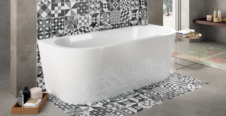 baignoire autoportante philoa philoa aquarine. Black Bedroom Furniture Sets. Home Design Ideas