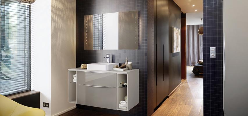 Meuble de salle de bain à composer  ALYS  Aquarine