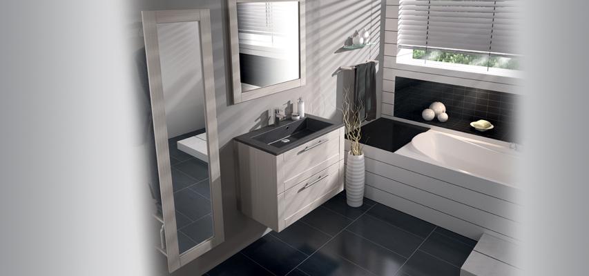Meuble de salle de bain  COVENTRY  Aquarine