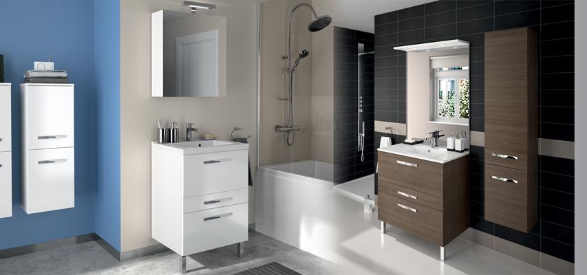 Meuble de salle de bain prefixe code tiroirs a poser aquarine Meuble qui a plusieurs tiroirs