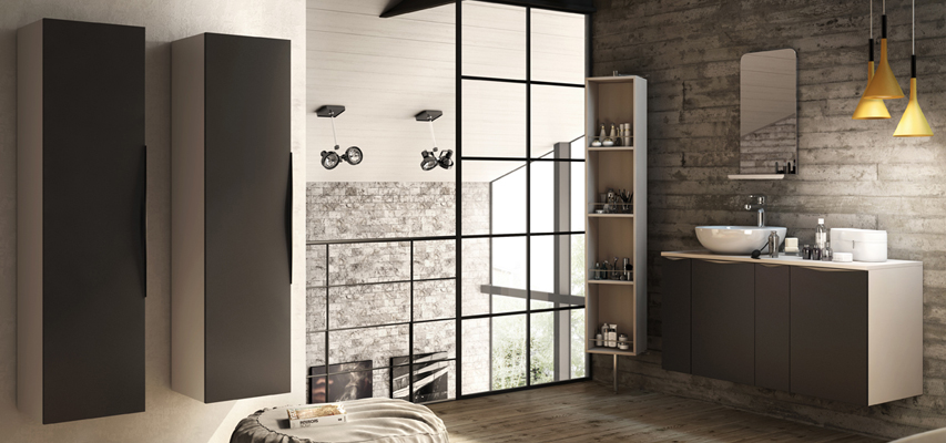meuble de salle de bain composer alys aquarine. Black Bedroom Furniture Sets. Home Design Ideas