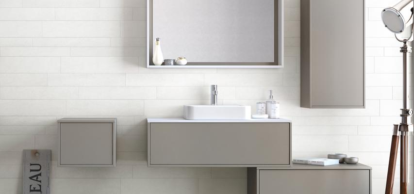 Meuble de salle de bain  NEWPORT IN  Aquarine