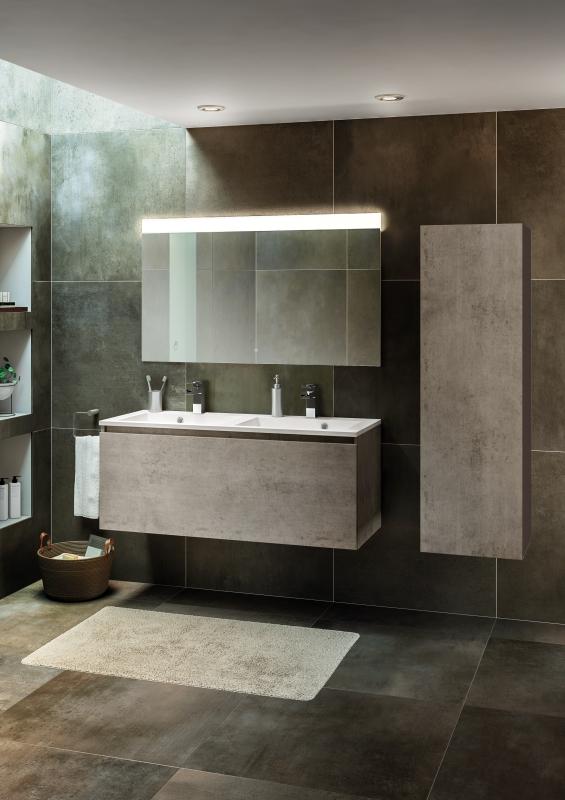 salle de bain beton mineral great awesome peinture imitation bois castorama peinture effet. Black Bedroom Furniture Sets. Home Design Ideas
