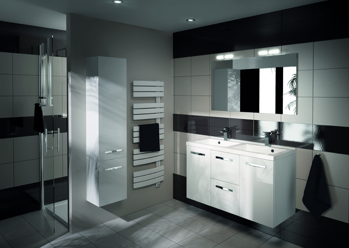 meuble de salle de bain prefixe tiroirs aquarine. Black Bedroom Furniture Sets. Home Design Ideas