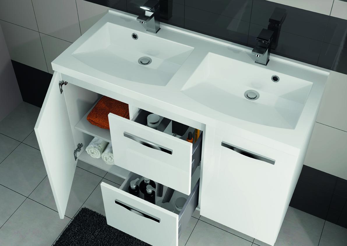 meuble de salle de bain prefixe tiroirs aquarine. Black Bedroom Furniture Sets. Home Design Ideas