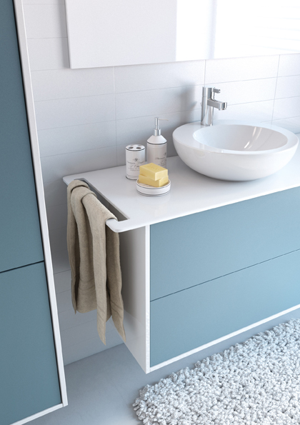 meuble de salle de bain newport aquarine. Black Bedroom Furniture Sets. Home Design Ideas