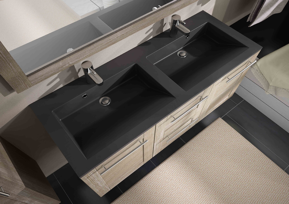 meuble de salle de bain coventry aquarine. Black Bedroom Furniture Sets. Home Design Ideas