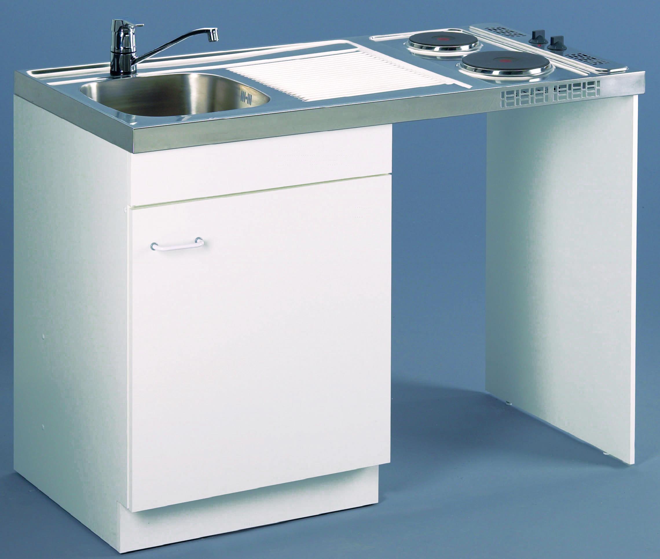 Meuble de cuisine sous vier lave vaisselle aquarine for Meuble cuisine hauteur 110 cm