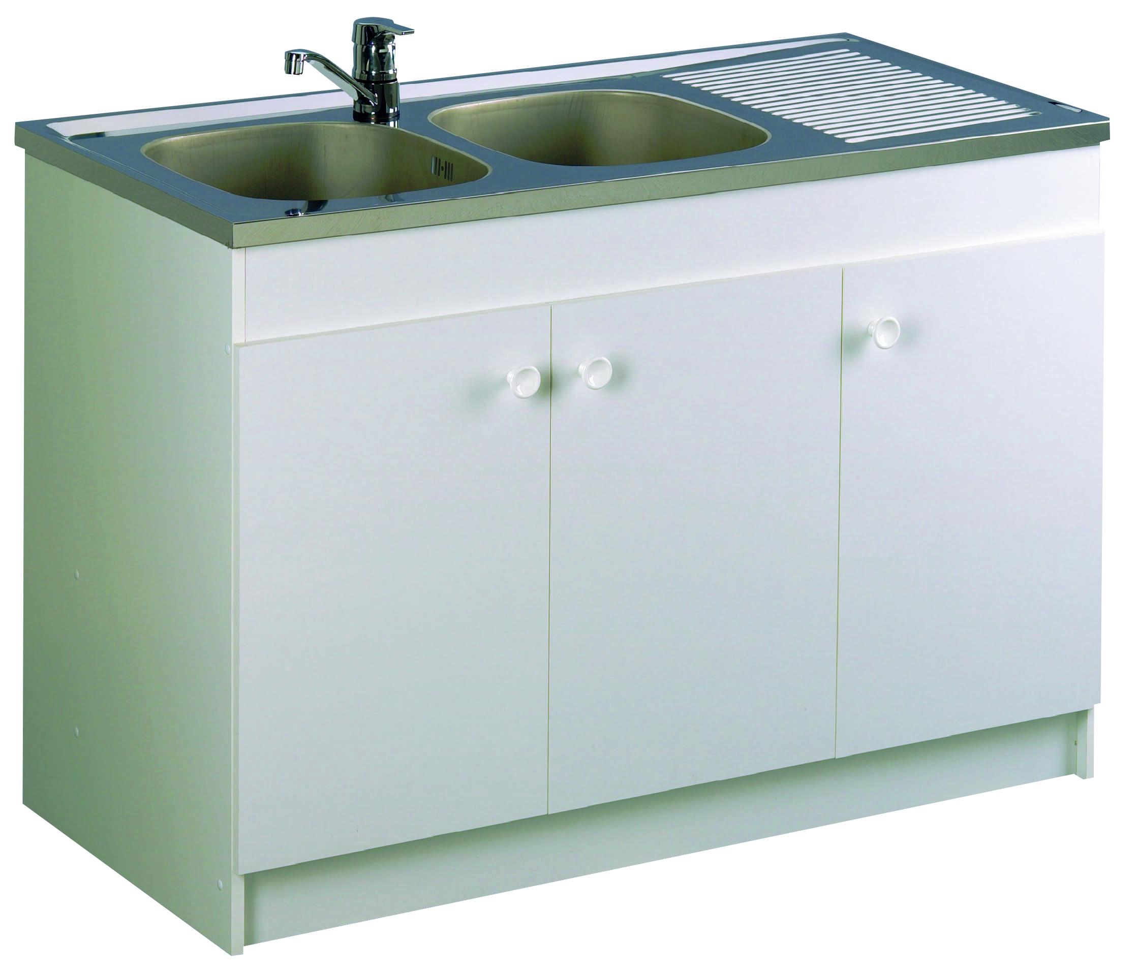 meuble de cuisine sous vier leader aquarine. Black Bedroom Furniture Sets. Home Design Ideas