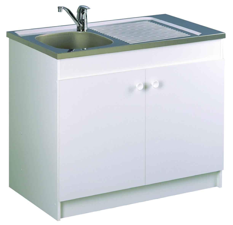 Meuble de cuisine sous-évier - LEADER  Aquarine