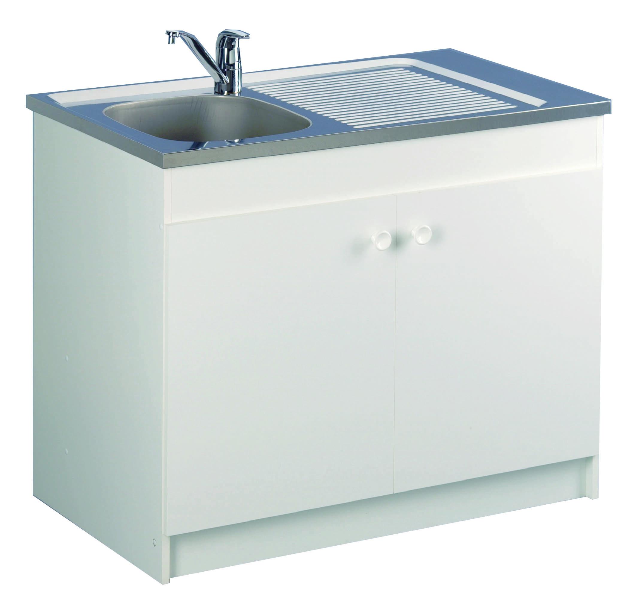 Meuble de cuisine sous-évier - LIBERTY  Aquarine