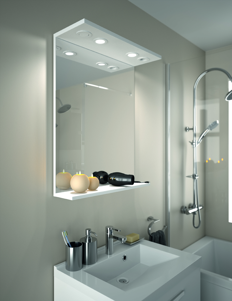 meuble de salle de bain prefixe code tiroirs a poser aquarine. Black Bedroom Furniture Sets. Home Design Ideas