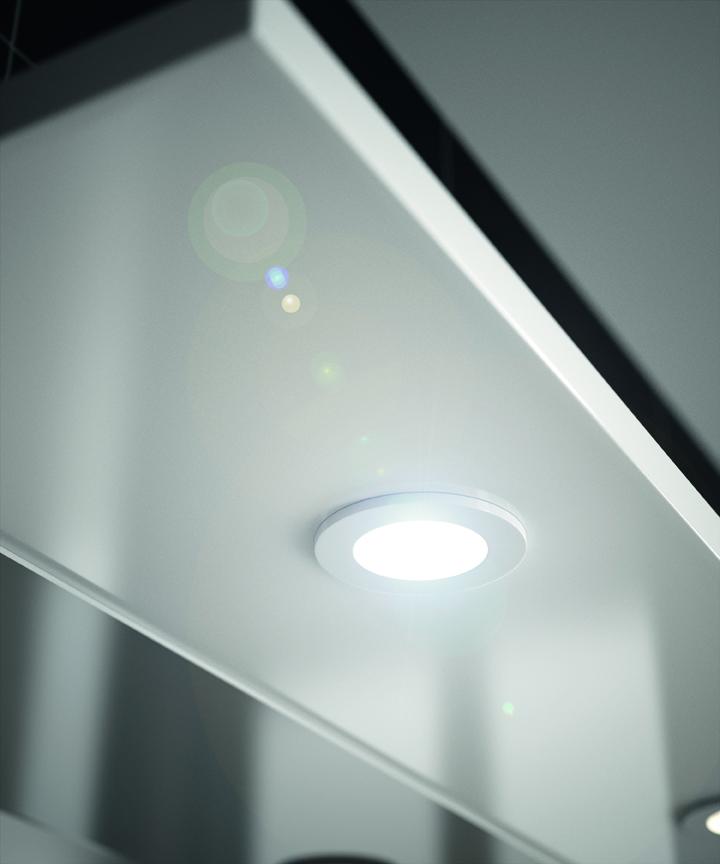 Lumibloc aquarine for Spot miroir salle de bain