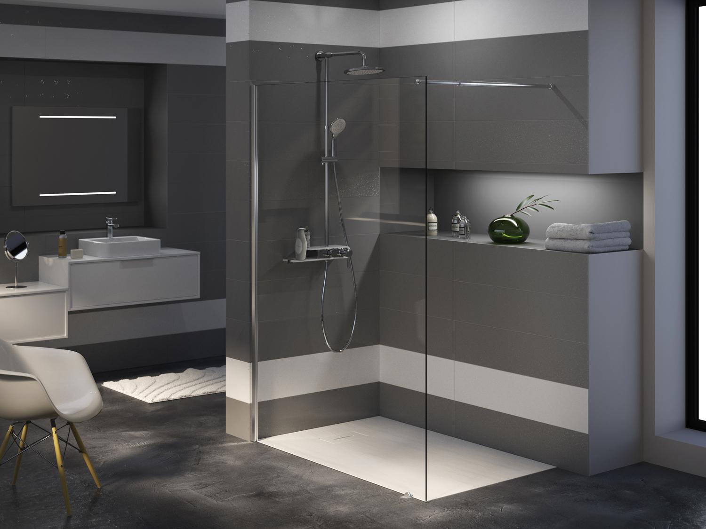 paroi de douche paroi de douche lago aquarine. Black Bedroom Furniture Sets. Home Design Ideas