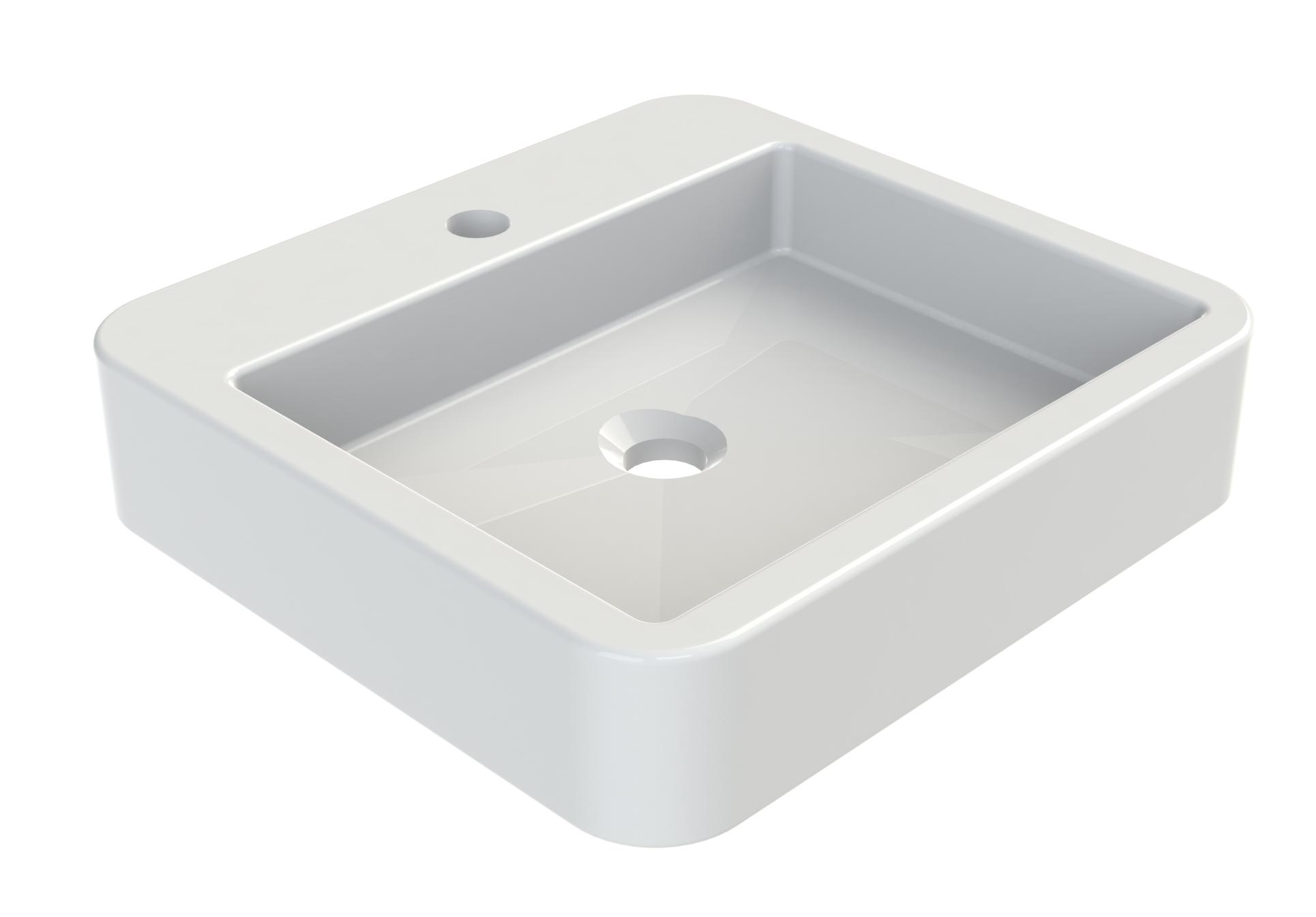 vasque poser en c ramique carr e vasque poser carr e melkia aquarine. Black Bedroom Furniture Sets. Home Design Ideas