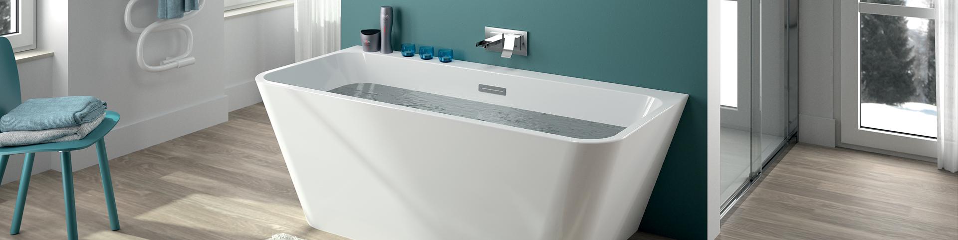 Ensemble salle de bain meubles baignoires et plus for Baignoire et douche ensemble