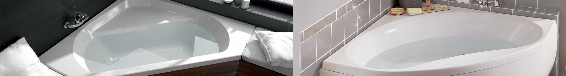 baignoire angle 120x120. Black Bedroom Furniture Sets. Home Design Ideas
