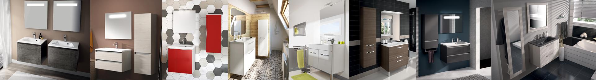Petit meuble salle de bain meuble petite sdb - Meuble salle de bain petite largeur ...