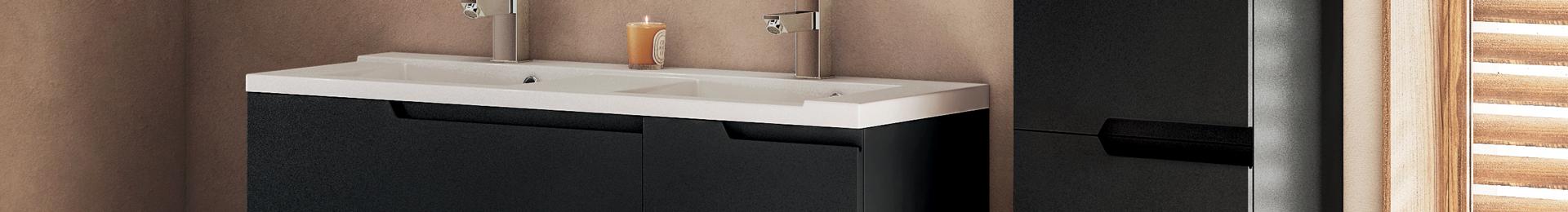 Meuble salle de bain moderne, mobilier, armoires etc | Aquarine