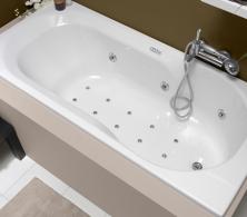 baignoire bain douche rectangulaire twinside. Black Bedroom Furniture Sets. Home Design Ideas
