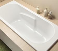 baignoire rectangulaire foria 2 rectangulaire aquarine. Black Bedroom Furniture Sets. Home Design Ideas