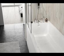 baignoire rectangulaire double dos la collection rectangulaire double dos aquarine. Black Bedroom Furniture Sets. Home Design Ideas