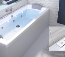 baignoire rectangulaire double dos quadra rectangulaire double dos aquarine. Black Bedroom Furniture Sets. Home Design Ideas