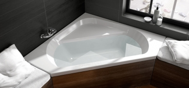 baignoire d 39 angle 135x135 120x120 140x140. Black Bedroom Furniture Sets. Home Design Ideas