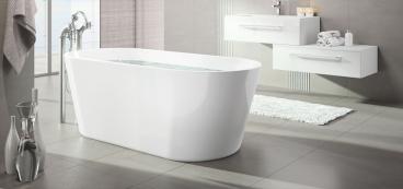 baignoire ilot affordable baignoire lot burano avec trop. Black Bedroom Furniture Sets. Home Design Ideas
