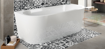 baignoire lot design rectangulaire ou ovale. Black Bedroom Furniture Sets. Home Design Ideas