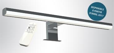 Eclairage miroir salle de bain led spot luminaire - Comment fixer un miroir de salle de bain ...