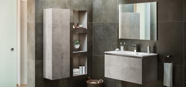 meuble salle de bain complet mobilier armoires etc. Black Bedroom Furniture Sets. Home Design Ideas