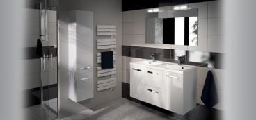 Meuble salle de bain 100 cm 105 cm 120 cm for Meuble salle de bain aquarine