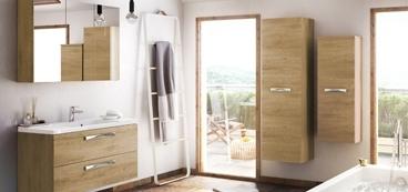 Meuble salle de bain bois design
