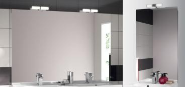 Miroir salle de bain lumineux avec leds ou sans clairage for Miroir a poser sur meuble