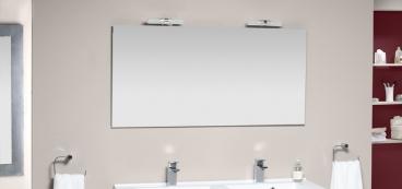 Miroir salle de bain lumineux avec LEDs ou sans éclairage