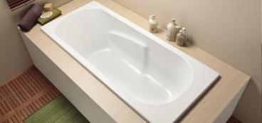 Petite baignoire confortable