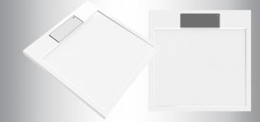 receveur de douche 90x90 extra plat 80x80 100x100. Black Bedroom Furniture Sets. Home Design Ideas