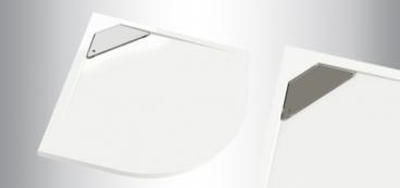 receveur de douche d 39 angle extra plat quart de rond 1 4. Black Bedroom Furniture Sets. Home Design Ideas