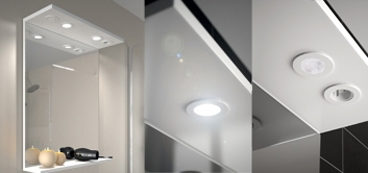 Miroir à Composer Avec Tablette Et Bandeau Lumineux. Existe En 60, 70, 80,  90, 105, 120, Et 140 Cm. Découvrir