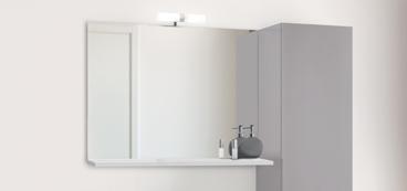Miroir salle de bain lumineux, avec LEDs ou sans éclairage
