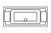 Quadra rectangle double dos
