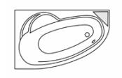 Ladiva asymétrique droite + tablier