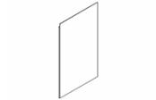 Miroir crédo 60 cm