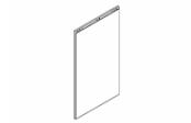 Lumibloc Miroir crédence 60 cm, rampe d'éclairage au choix.